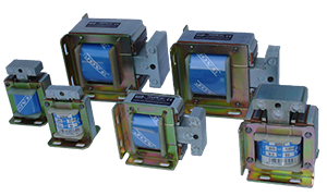 Laminated solenoids for AC